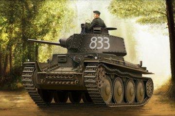 German Panzer Kpfw.38(t) Ausf.E/F · HBO 80136 ·  HobbyBoss · 1:35