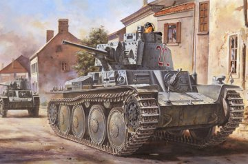 German Pz.Kpfw. /Pz.BfWg 38(t) Ausf.B · HBO 80138 ·  HobbyBoss · 1:35