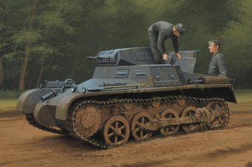 German Panzer 1Ausf A Sd.Kfz.101(Early/ Late Version) · HBO 80145 ·  HobbyBoss · 1:35