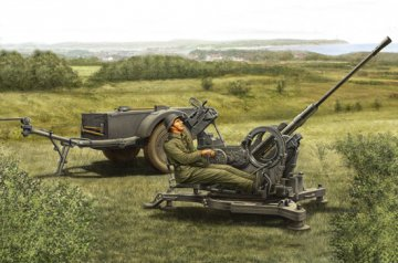 2cm Flak38 Late Version/Sd. Ah 51 · HBO 80148 ·  HobbyBoss · 1:35