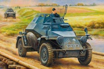 German Leichter Panzerspahwagen (2cm) Mid Version · HBO 80149 ·  HobbyBoss · 1:35