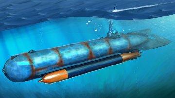 German Molch Midget Submarine · HBO 80170 ·  HobbyBoss · 1:35