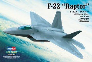 F-22A ´´Raptor´´ · HBO 80210 ·  HobbyBoss · 1:72