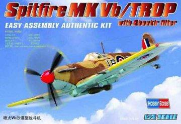 Spitfire MK.Vb TROP · HBO 80214 ·  HobbyBoss · 1:72