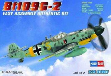 Messerschmitt Bf 109 G-2 · HBO 80223 ·  HobbyBoss · 1:72