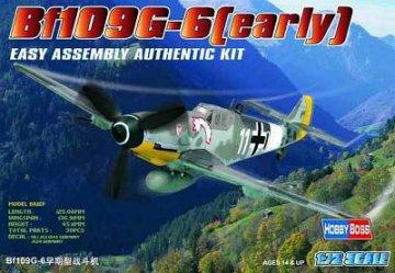 Messerschmitt Bf 109 G-6 (early) · HBO 80225 ·  HobbyBoss · 1:72