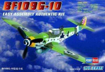Messerschmitt Bf 109 G-10 · HBO 80227 ·  HobbyBoss · 1:72