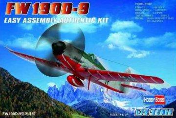 Focke-Wulf Fw 190 D-9 · HBO 80228 ·  HobbyBoss · 1:72