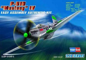 P-51D ´´Mustang´´ · HBO 80230 ·  HobbyBoss · 1:72