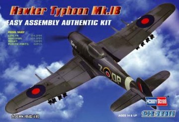 Hawker Typhoon Mk.IB Fighter · HBO 80232 ·  HobbyBoss · 1:72