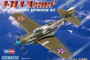 American  P-39 N ´Aircacobra´ · HBO 80234 ·  HobbyBoss · 1:72