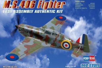 MS.406 Fighter · HBO 80235 ·  HobbyBoss · 1:72