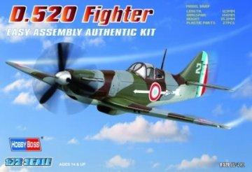 French D.520 Fighter · HBO 80237 ·  HobbyBoss · 1:72