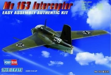 Germany Me 163 Fighter · HBO 80238 ·  HobbyBoss · 1:72