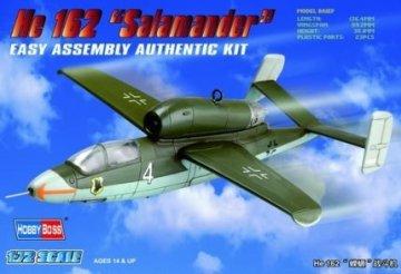 Heinkel He 162 Salamander · HBO 80239 ·  HobbyBoss · 1:72