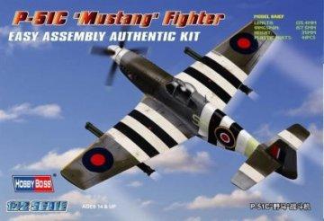 P-51C ´Mustang´ Fighter · HBO 80243 ·  HobbyBoss · 1:72