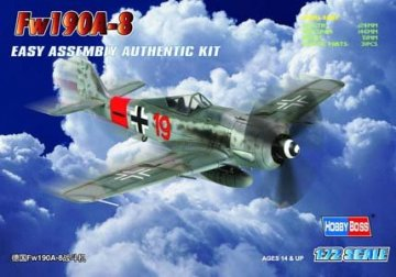 Focke-Wulf Fw 190 A-8 · HBO 80244 ·  HobbyBoss · 1:72
