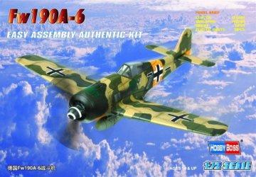 Focke-Wulf Fw 190 A-6 · HBO 80245 ·  HobbyBoss · 1:72