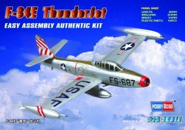 American F-84E ´Thunderjet´ · HBO 80246 ·  HobbyBoss · 1:72