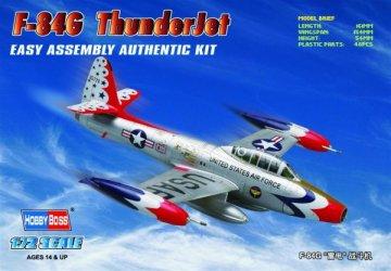 American F-84G ´ThunderJet´ · HBO 80247 ·  HobbyBoss · 1:72