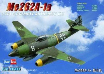 Messerschmitt Me 262 A-1a · HBO 80249 ·  HobbyBoss · 1:72
