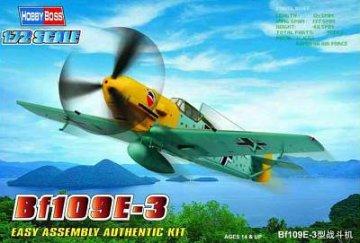 Messerschmitt Bf 109 E-3 Fighter · HBO 80253 ·  HobbyBoss · 1:72