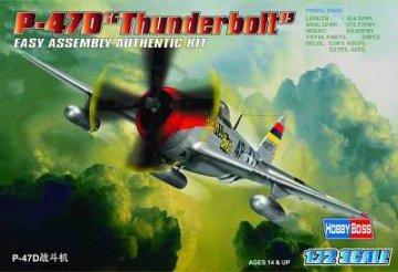 P-47D ´´Thunderbolt´´ · HBO 80257 ·  HobbyBoss · 1:72