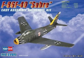 F-86F-40 ´Sabre´ Fighter · HBO 80259 ·  HobbyBoss · 1:72