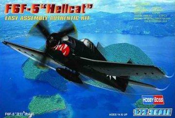 F6F-5 ´´Hellcat´´ · HBO 80260 ·  HobbyBoss · 1:72