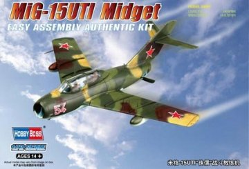 MiG-15UTI Midget · HBO 80262 ·  HobbyBoss · 1:72