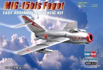 MiG-15bis Fagot · HBO 80263 ·  HobbyBoss · 1:72