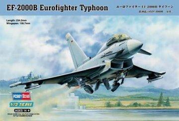 EF-2000B Eurofighter Typhoon · HBO 80265 ·  HobbyBoss · 1:72