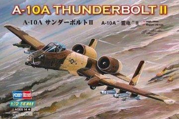A-10A Thunderbolt II · HBO 80266 ·  HobbyBoss · 1:72