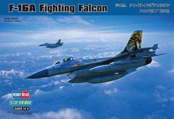 General Dynamics F-16A Fighting Falcon · HBO 80272 ·  HobbyBoss · 1:72