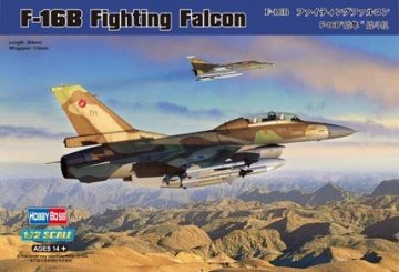 General Dynamics F-16B Fighting Falcon · HBO 80273 ·  HobbyBoss · 1:72