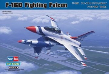 F-16D Fighting Falcon · HBO 80275 ·  HobbyBoss · 1:72