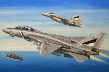 F-14D Super Tomcat · HBO 80278 ·  HobbyBoss · 1:72