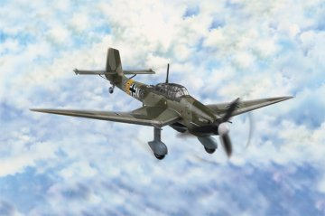 Junkers Ju 87 D-3 Stuka · HBO 80286 ·  HobbyBoss · 1:72
