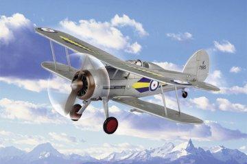 RAF Gladiator · HBO 80289 ·  HobbyBoss · 1:72