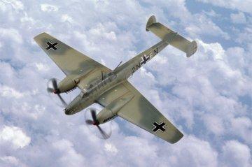 Messerschmitt Bf 110 Fighter · HBO 80292 ·  HobbyBoss · 1:72