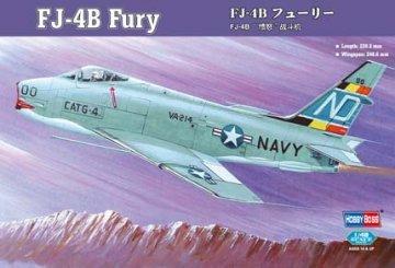 FJ-4B Fury · HBO 80313 ·  HobbyBoss · 1:48