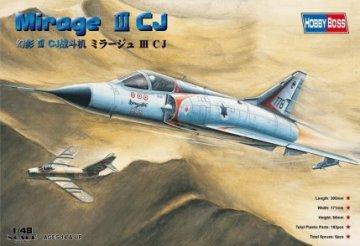 Mirage IIICJ Fighter · HBO 80316 ·  HobbyBoss · 1:48