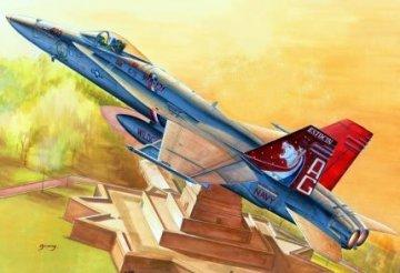 F/A-18C Hornet · HBO 80321 ·  HobbyBoss · 1:48