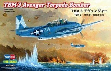 TBM-3 Avenger Torpedo Bomber · HBO 80325 ·  HobbyBoss · 1:48
