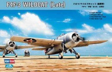 F4F-3 Wildcat Late Version · HBO 80327 ·  HobbyBoss · 1:48