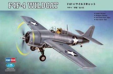 F4F-4 Wildcat Fighter · HBO 80328 ·  HobbyBoss · 1:48