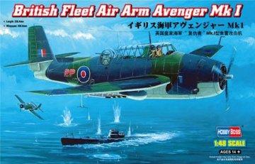 British Fleet Air Arm Avenger Mk 1 · HBO 80331 ·  HobbyBoss · 1:48