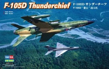 Republic F-105D Thunderchief · HBO 80332 ·  HobbyBoss · 1:48