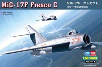 MiG-17F Fresco C · HBO 80334 ·  HobbyBoss · 1:48