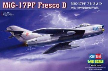 MiG-17PF Fresco D · HBO 80336 ·  HobbyBoss · 1:48